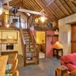 Interior view, Stables barn conversion West Woolley Farm